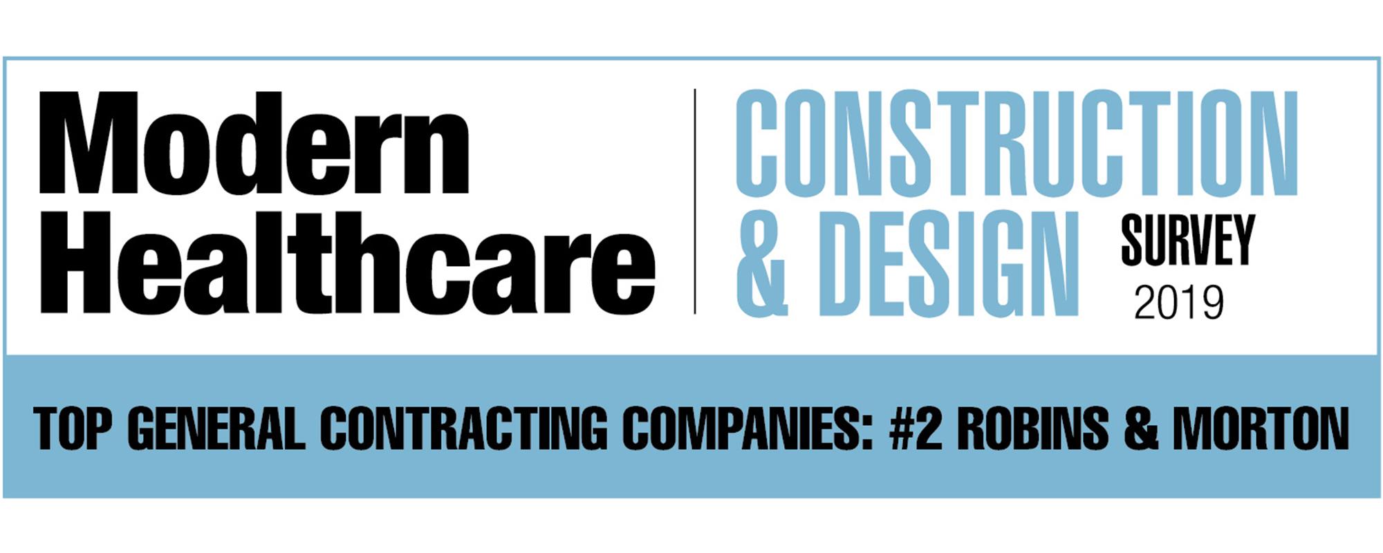 Modern Healthcare Top General Contractors