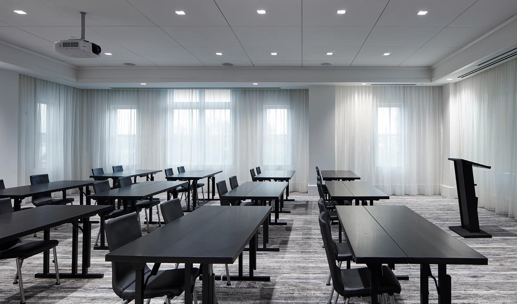 Meeting center at A C Hotel Spartanburg