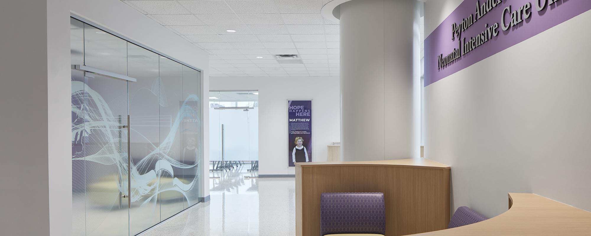 Intensive care unit entry