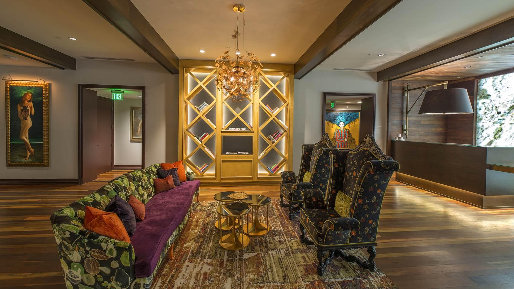 Grand Bohemian Hotel lobby