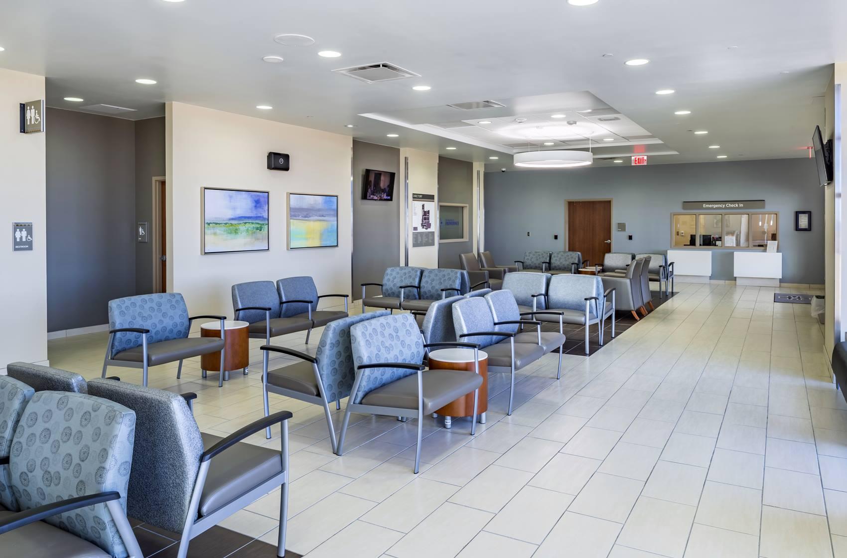 Hospitals of Providence Transmountain Emergency Room Lobby