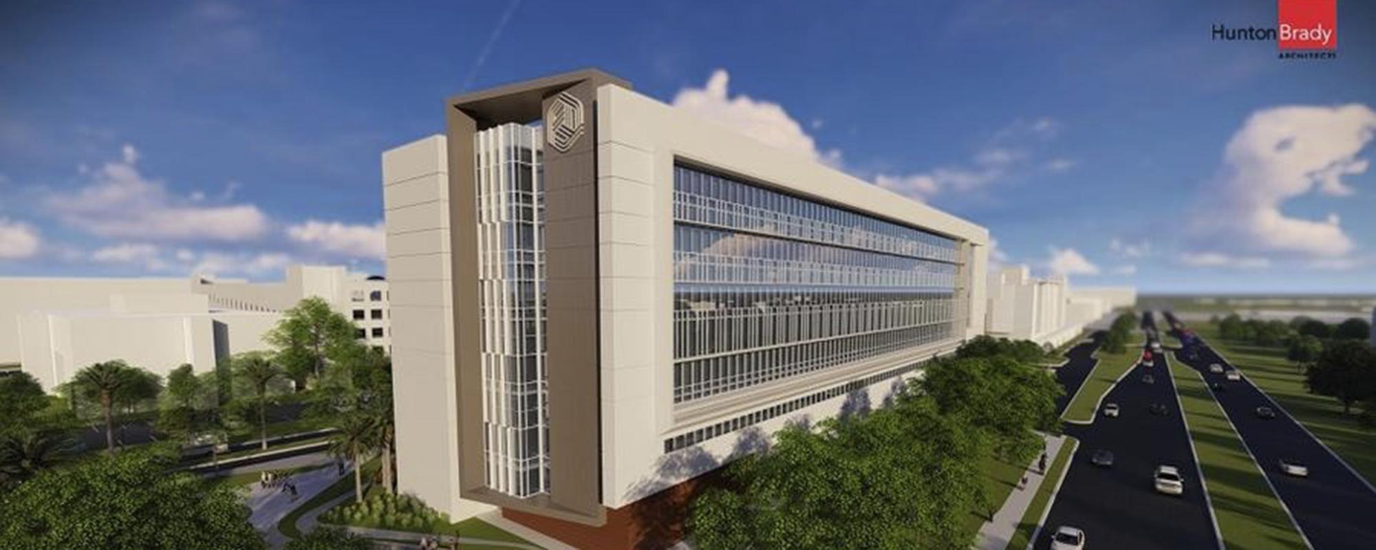 hospital rendering