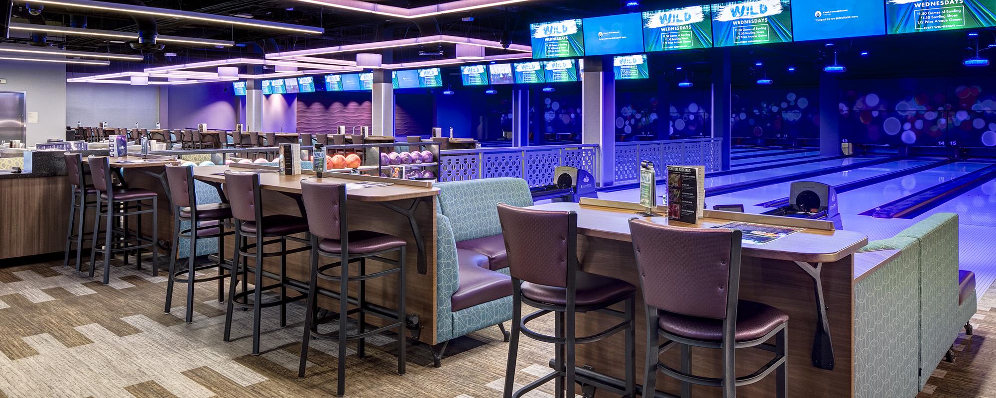 UltraStar First Floor Bowling Lanes
