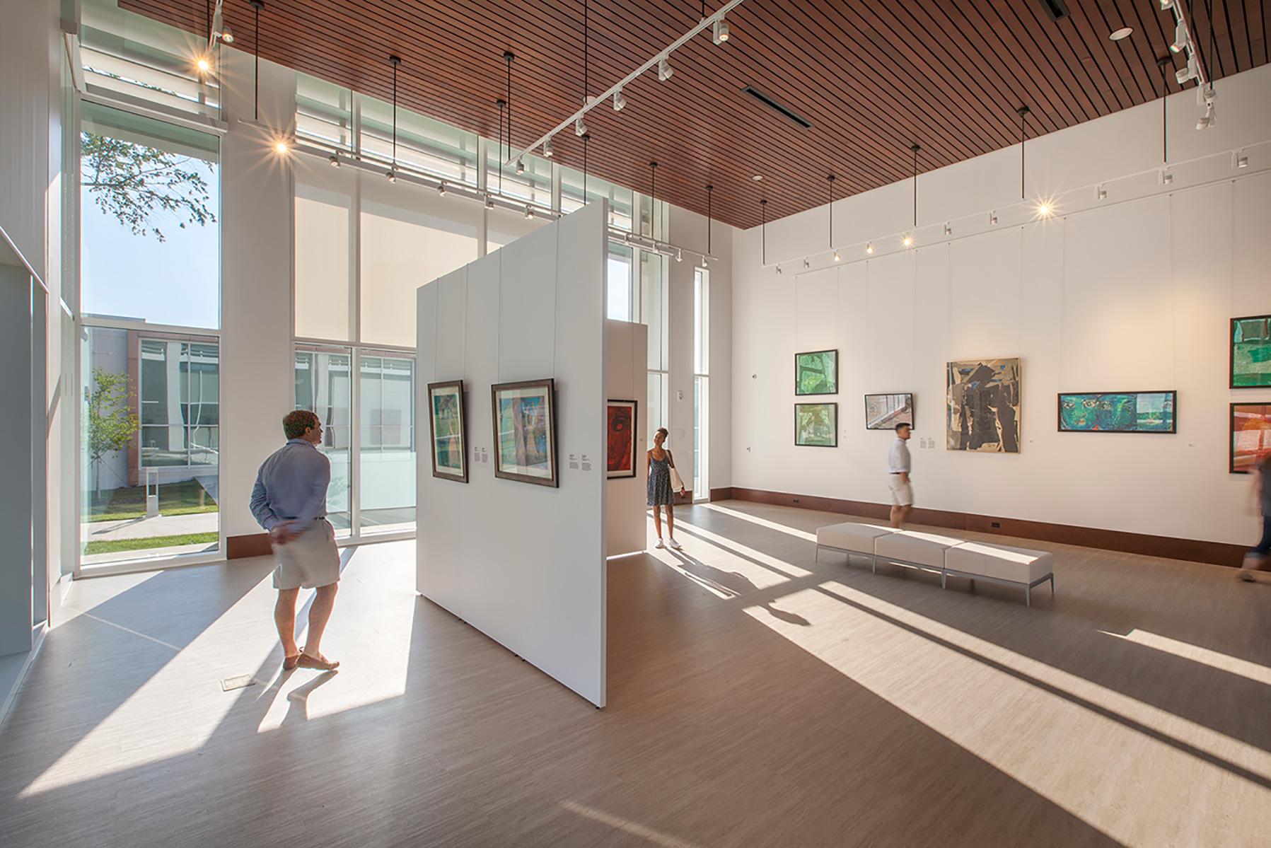 Rosalind Sallenger Richardson Center for the Arts upper gallery