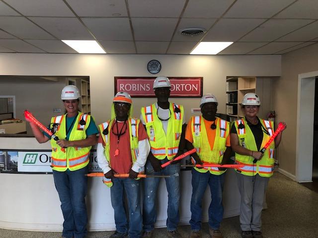 Construction Flaggers