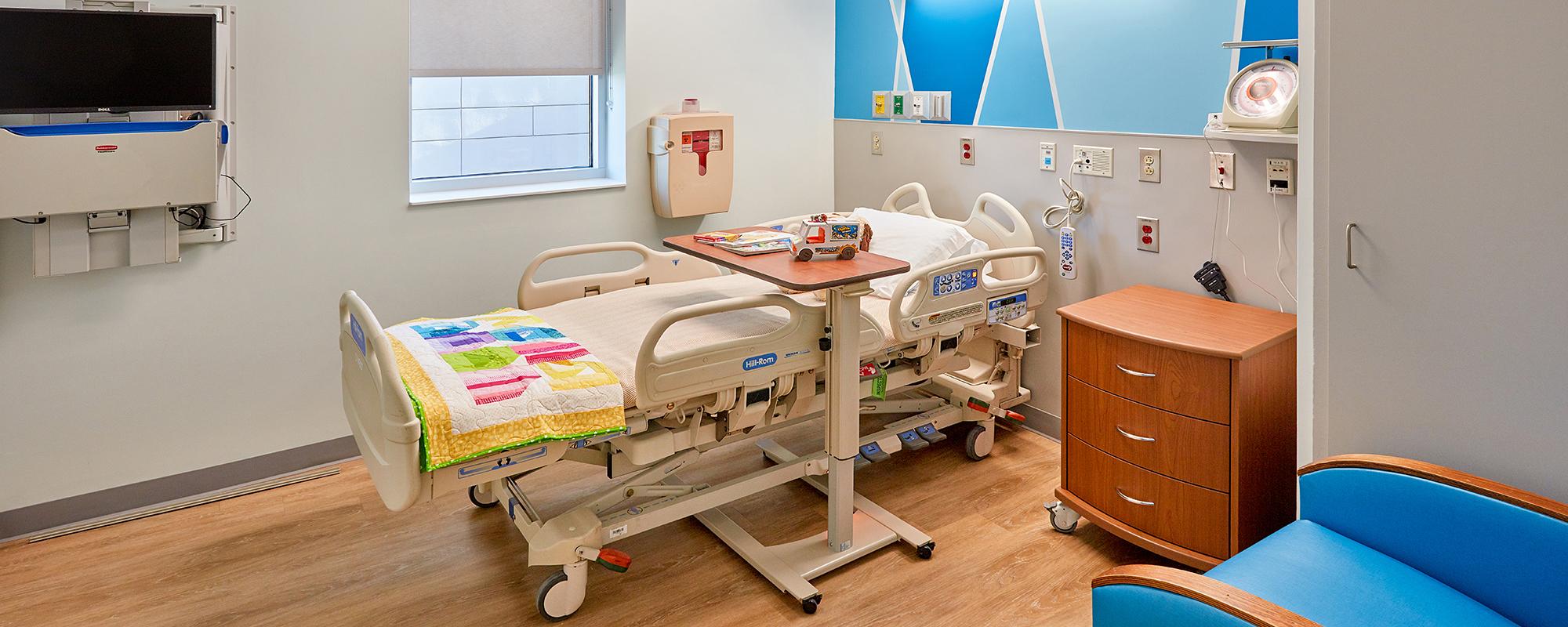 Interior of Beverly Knight Olson Children's Hospital