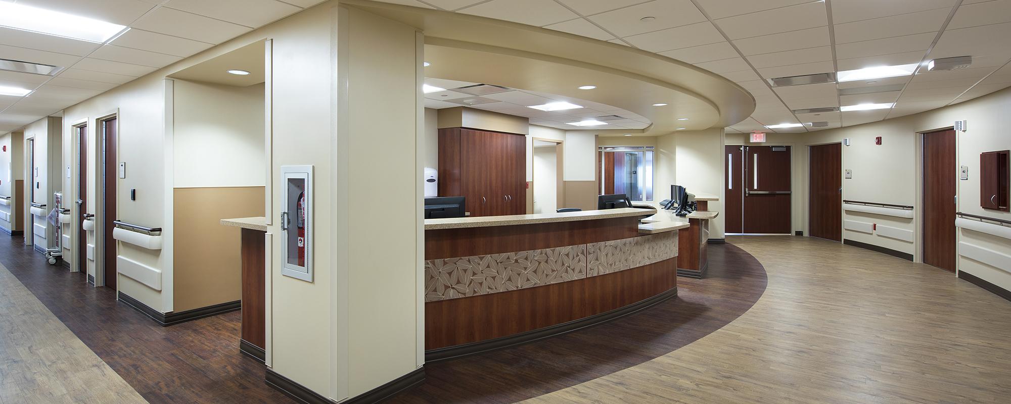 Nurses Station at AdventHealth Carrollwood